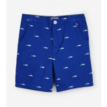 Twill Shorts - Tiny Sharks