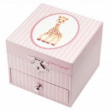 Pink Musical Box - Sophie the Giraffe