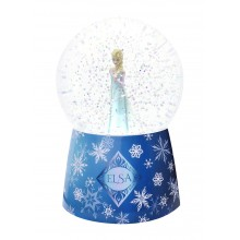 Snow Globe with Musical Elsa