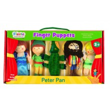 Peter Pan Finger Puppet Set