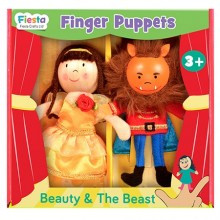 Beauty & Beast Finger Puppet Set
