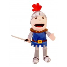 Knight Moving Mouth Puppet