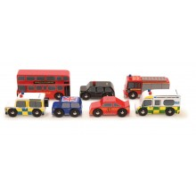 London Cars Set
