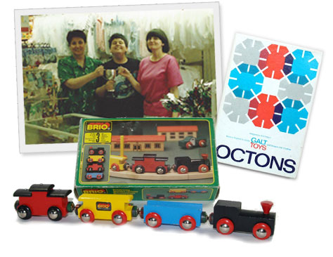 Brio, Octons, Piccola 1966, wooden trains, boys toys